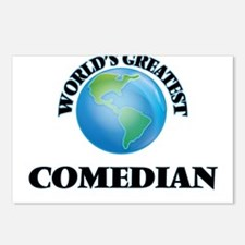 Cool Comedians Postcards (Package of 8)