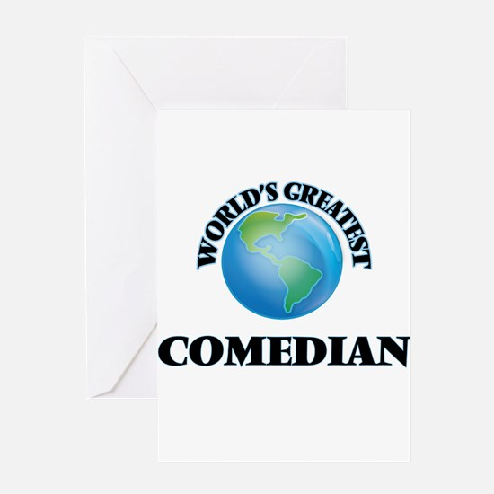 World's Greatest Comedian Greeting Cards