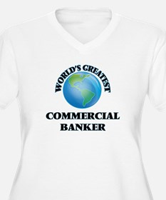World's Greatest Commercial Banker Plus Size T-Shi