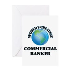World's Greatest Commercial Banker Greeting Cards