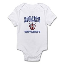RODARTE University Infant Bodysuit