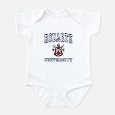 RODARTE University Infant Bodysuit