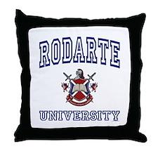 RODARTE University Throw Pillow
