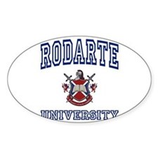 RODARTE University Oval Decal
