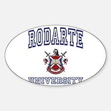 RODARTE University Oval Decal