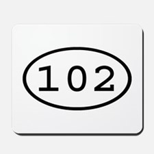 102 Oval Mousepad