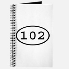 102 Oval Journal