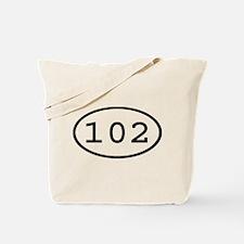 102 Oval Tote Bag