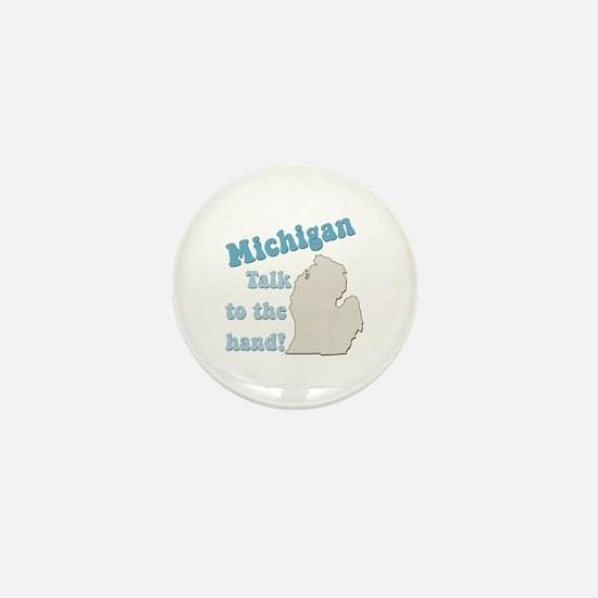 Michigan State Mini Button