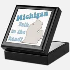 Michigan State Keepsake Box
