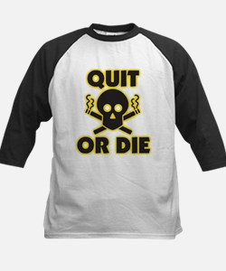 Quit or Die Baseball Jersey