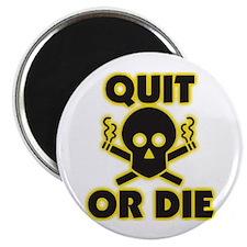 Quit or Die Magnets