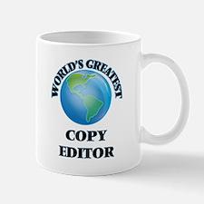 World's Greatest Copy Editor Mugs