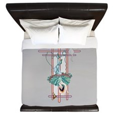 The Hanged Woman King Duvet