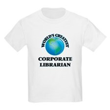 World's Greatest Corporate Librarian T-Shirt