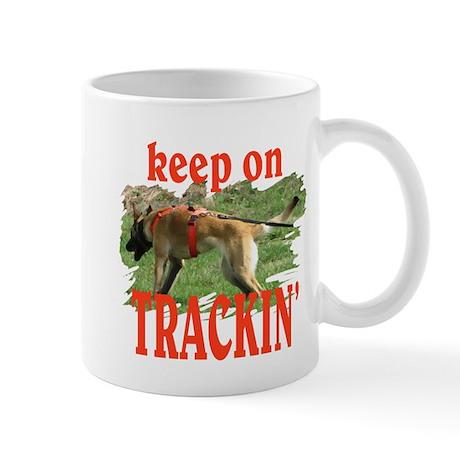 belgian malinois tracking Mug