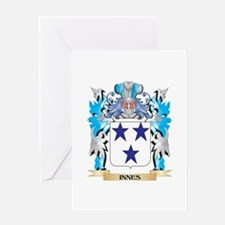 Innes Coat of Arms - Family Crest Greeting Cards