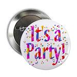 It's a Party Confetti Button