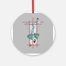 tarot hanged woman Ornament (Round)