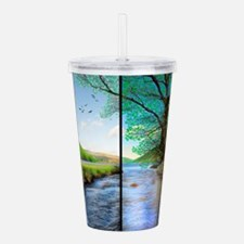 as time goes by Acrylic Double-wall Tumbler