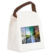 as time goes by Canvas Lunch Bag