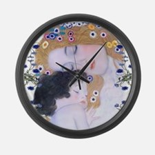 Cute Mothers day Large Wall Clock