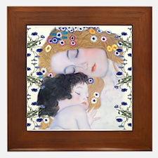 Unique Klimt Framed Tile