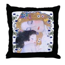Cute Mothers day Throw Pillow