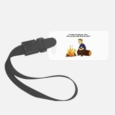 One Hand Colder Luggage Tag