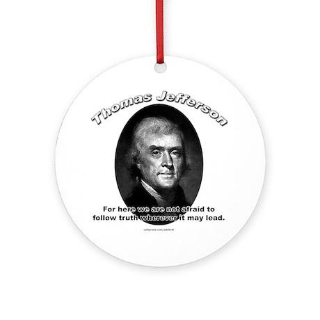 Thomas Jefferson 06 Ornament (Round)