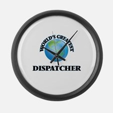 Cute Public safety dispatcher Large Wall Clock