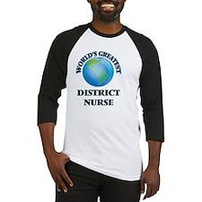 World's Greatest District Nurse Baseball Jersey