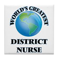 Cute Nursing forum Tile Coaster