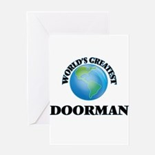 World's Greatest Doorman Greeting Cards