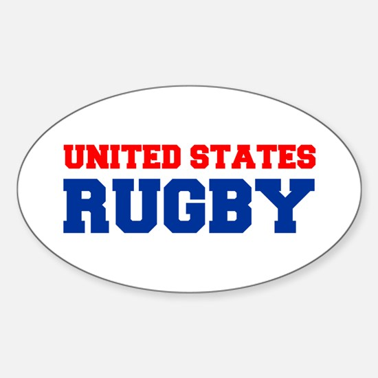 united states us rugby Decal