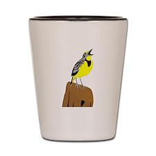 Meadowlark Shot Glass