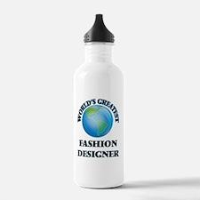 Cool Worlds greatest fashion designer Water Bottle