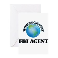 World's Greatest Fbi Agent Greeting Cards