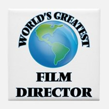 Unique World%27s greatest director Tile Coaster