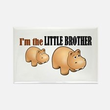Little Brother (Hungry Hippo) Rectangle Magnet