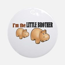 Little Brother (Hungry Hippo) Ornament (Round)