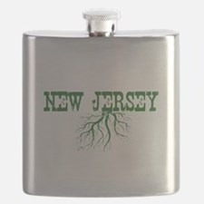 New Jersey Roots Flask