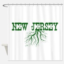 New Jersey Roots Shower Curtain