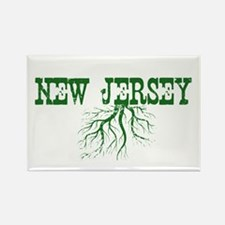 New Jersey Roots Rectangle Magnet