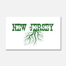 New Jersey Roots Car Magnet 20 x 12