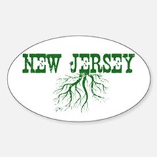 New Jersey Roots Sticker (Oval)