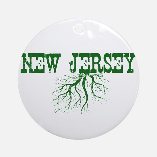 New Jersey Roots Ornament (Round)