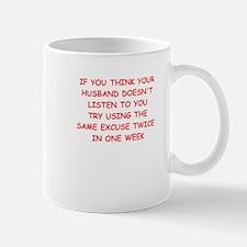 excuse Mugs
