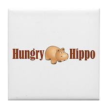 Hungry Hippo Tile Coaster