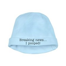 Breaking news... I pooped baby hat